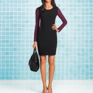 DIANE von FURSTENBERG color block dress size 6